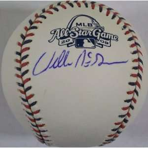 MLB St. Louis Cardinals Willie McGee AS Logo Autographed