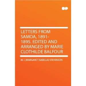 by Marie Clothilde Balfour: M. I. (Margaret Isabella) Stevenson: Books