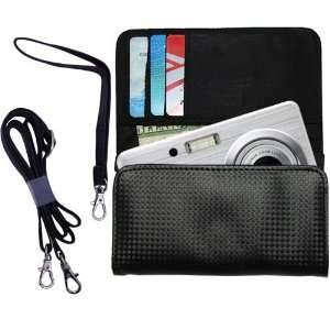 Black Purse Hand Bag Case for the Fujifilm FinePix J15