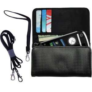 Black Purse Hand Bag Case for the Motorola Opus One with
