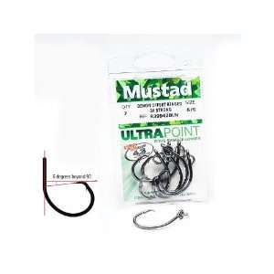 Mustad R39943BLN Demon Perfect Circle   Ringed Hooks   5/0