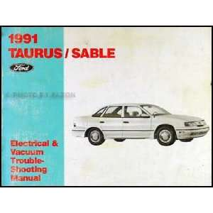1991 Ford Taurus Mercury Sable Electrical Troubleshooting