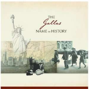 The Gallas Name in History: Ancestry Books