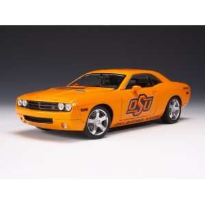 Highway 61 Oklahoma State Cowboys Dodge Challenger Diecast