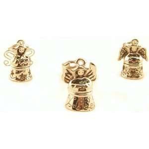 Little ANGEL Prayer Box SET of 3 CHARMS locket NEW