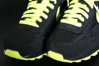 New Nike Womens Air Pegasus GX Black & Neon Green Classic Running