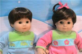 American Girl Bitty Baby Twins 2002 Pleasant Company Dolls with Box