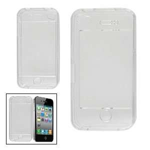 Clear Crystal Plastic Hard Case Protector for iPhone 4 4G