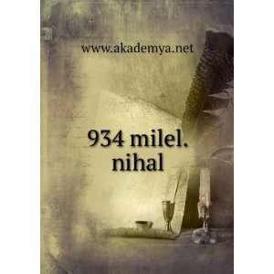 934 milel.nihal www.akademya.net Books