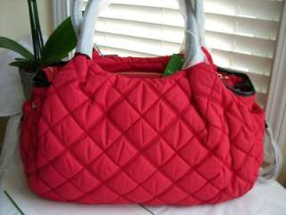 Kate Spade CHESTNUT RIDGE Red Diaper Baby Bag $425