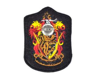 Harry Potter House Gryffindor Crest Iron On Badge Patch_#hz02