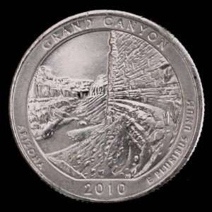 2010 P Arizona Grand Canyon National Park Quarter GEM BU