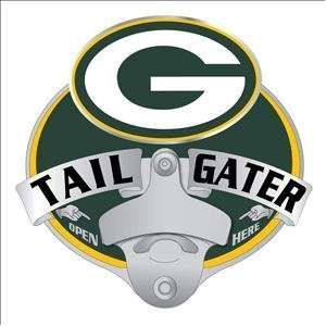 Green Bay Packers Tailgater Bottle Opener Hitch Cover
