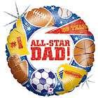 Homer Simpson All American Dad Mylar Balloon