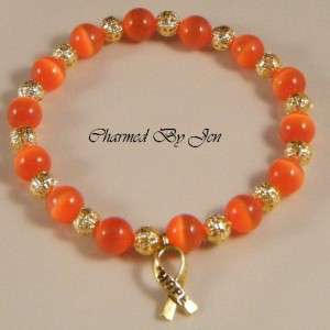 Support MS multiple sclerosis awareness with this hand crafted artisan