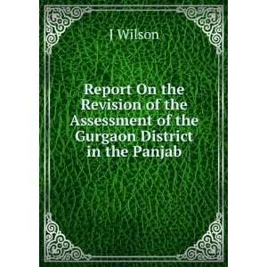 the Assessment of the Gurgaon District in the Panjab: J Wilson: Books