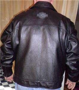 Harley Davidson Leather Jacket Spirit 97023 02VM 3XL MINT CONDITION