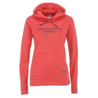 UNDER ARMOUR WOMEN WOUNDED WARRIOR PROJECT HOODY FLEECE WWP BLACK S M