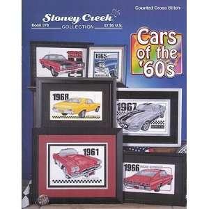 Cars Of The 60s   Cross Stitch Pattern: Arts, Crafts