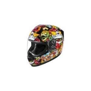 Alliance SSR Dia De Los Muertos Helmet   2X Large/Black Automotive