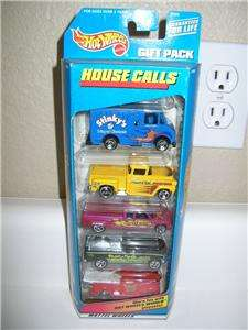 HOT WHEELS 5 CAR GIFT PACK HOUSE CALLS