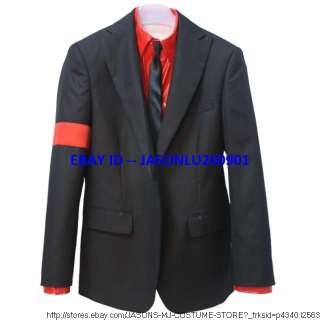 MICHAEL JACKSON 99 DANGEROUS JACKET WITH RED ARMBAND   Pro Series