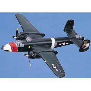 Large Aircraft Model with Stand   The B 25J Mitchell Falcon, Olive