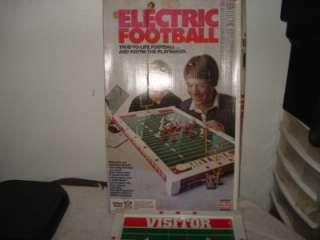 VINTAGE TUDOR ELECTRIC FOOTBALL METAL GAME BOARD # 500