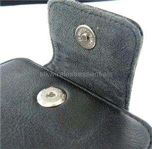 New Original OEM HTC Premium Blk Genuine Leather Case Cover Pouch