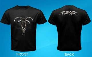 Fear Factory Mechanize Logo Black Men T shirt
