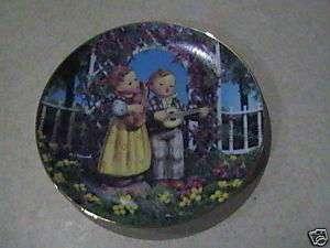 Hummel Little Musicians Plate 1992 Danbury Mint VGC