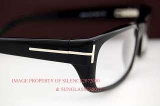 New Tom Ford Eyeglasses Frames 5114 001 BLACK for Men 664689455393