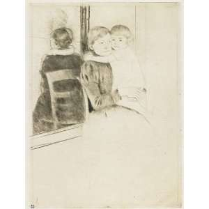 Mary Stevenson Cassatt   24 x 32 inches   The Mirro Home & Kitchen
