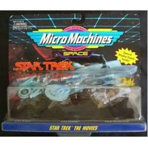 Star Trek Micro Machines The Movies Collection Toys