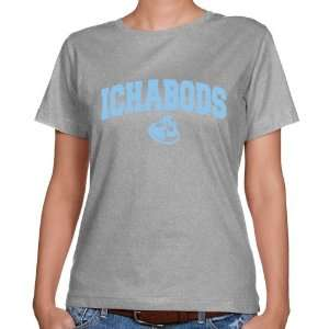 Washburn Ichabods Ladies Ash Logo Arch Classic Fit T shirt