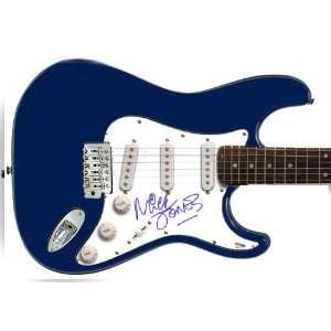 Clash Mick Jones Autographed Signed Guitar & Proof PSA/DNA