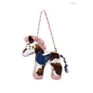 Lucky Pink Horse Purse 10 by Douglas Cuddle Toys Toys & Games