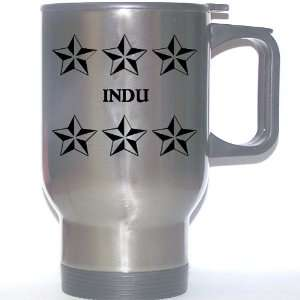 Personal Name Gift   INDU Stainless Steel Mug (black