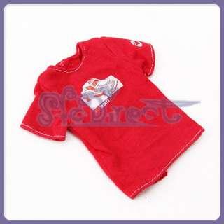red & black Clothes for Barbie Boyfriend Ken 1/6 Doll