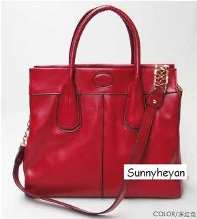 Ladies Real leather IT Girl Bag Messenger Bag Handbag Shoulder Satchel