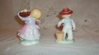 Vintage Figurines Boy and Girl Ceramic Jack and Jill