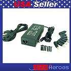 LOT5 Universal AC Adapter Charger f Laptop 90W 9Tips 3Prong