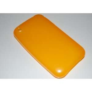 KingCase iPhone 3G & 3GS Soft Protective Case   Tangerine