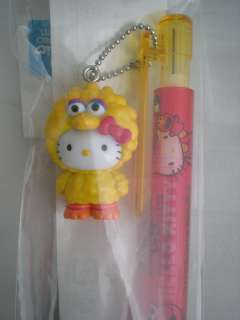 Sanrio Hello Kitty 2010 Sesame Street Big Bird Mechanical Pencil Japan