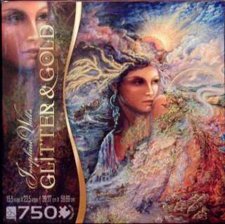 SURE LOX GLITTER & GOLD PUZZLE SPIRIT OF THE ELEMENTS JOSEPHINE WALL