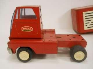 1960s TONKA Cattle Livestock Truck and Trailer  Vintage Steel Farm