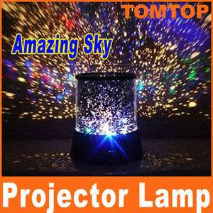 Romantic Amazing Sky Star Master Night Light Colorful Projector Lamp