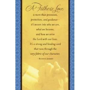 A Fathers Love   Fathers Day Card (Dayspring 4082 8