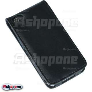 New Leather Flip Skin Case Cover for Apple iPhone 4 4G