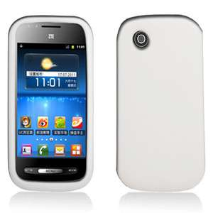 AT&T ZTE AVAIL N760 HIGH QUALITY SOFT WHITE SILICONE SKIN CASE